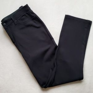 Chico's Black Straight Leg Pants Size 1